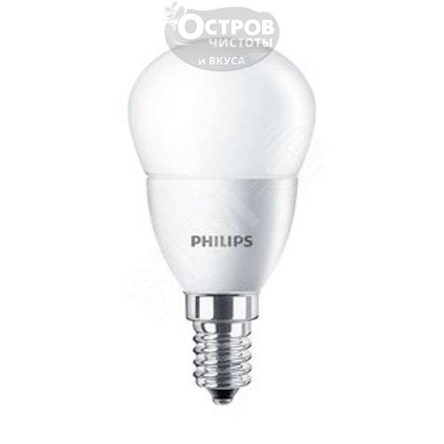 Лампа Philips ESSLEDLustre 6.5-75W E14 840 P45ND
